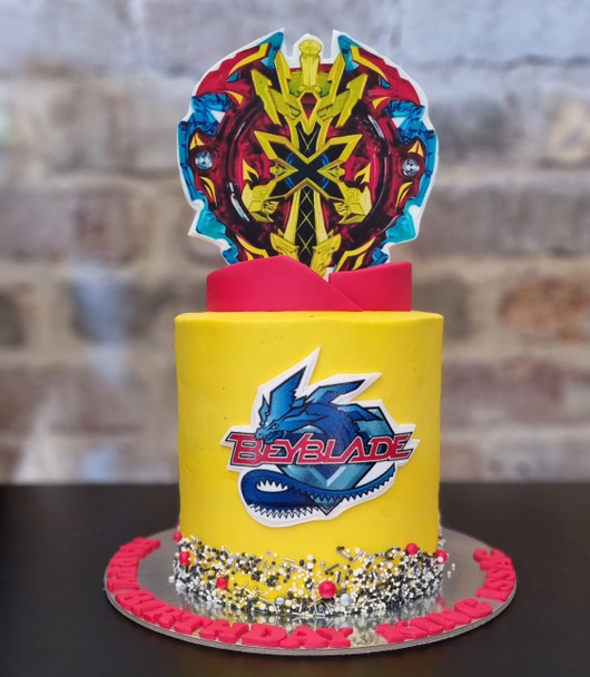 "Beyblade Cake in Sydney ""Sydney cakes Delivery"""