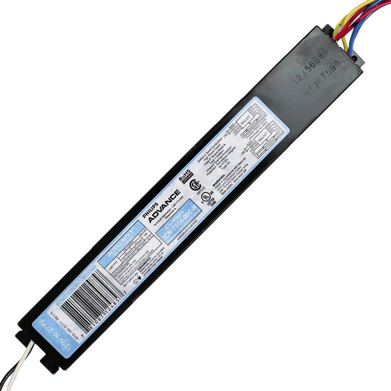 Advance ICN-2S54 Electronic Ballast