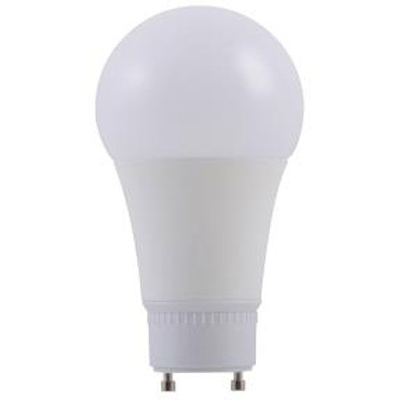 15W =100W Dimmable A19 LED 40K Cool White Frosted Twist and Lock GU24 Base Bulb