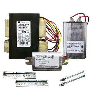 Universal S1000ML5AC5M-500K 1000W S52 HPS HID Ballast Kit 5 Tap