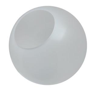 "12"" Frost Acrylic Light Globe Neckless Opening"