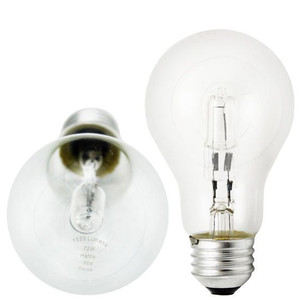 Halco 72W 1520 Initial Lumens 120V 76000 A19CL72/H A19 Clear Hal