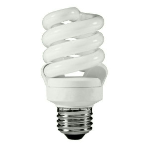 TCP 4891350K12 CFL T3 Spiral Fluorescent Bulb 12-Pack