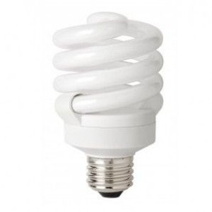 TCP 4891850K 75 Watt Replacement Trustart CFL Bulb 18 Watt 5000K