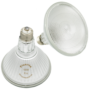 Plusrite 100W MH100/PAR38/SP/4K Pulse Start Metal Halide Lamp
