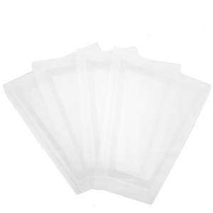Beveled Frosted Acrylic Replacement Panel Lens | Set of 4