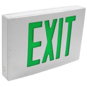 TCP 4.4 Watt Aluminum LED Exit Light 26L94