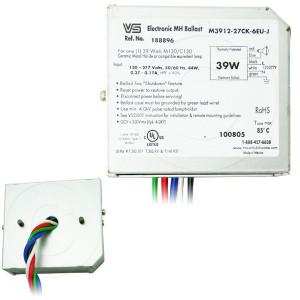VS 188896 M3912-27CK-6EU-J Electronic 39W MH Ballast M130 C130