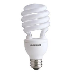 Sylvania 29728 20W Compact Fluorescent Micro Mini with Integral 120V Ballast Medium Screwbase 2 Pack # CF20EL//MICROMINI//827//RP2 Warm White