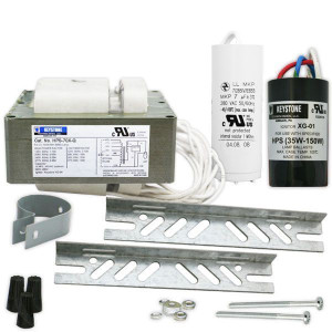 Keystone HPS-70X-Q-KIT 70W S62 High Pressure Sodium Ballast Quad