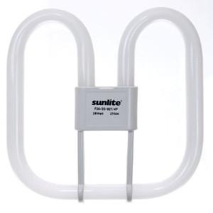Sunlite 28 Watt GR10Q Base Warm White 2D Fluorescent Lamp F28/2D/827/4P