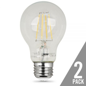 Feit Electric A1960/CL/LED/2 60W Replacement LED