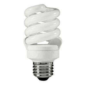 TCP 4891330K12 CFL T3 Spiral Fluorescent Bulb 12-Pack