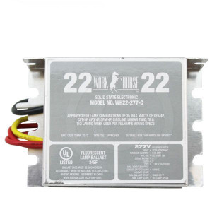 Fulham Work Horse WH22-277-C Solid State Electronic Ballast 277V