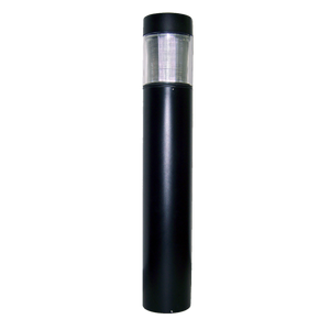 PDC Bollard Type V 15w 120-277v 5000K EasyLED Flat Top Bollard with IES Type V Glass BOFG5QF1X15U5K