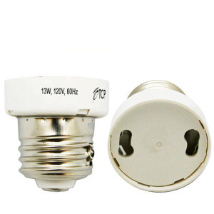 TCP EE26 Medium Base to GU24 Locking Lamp Socket Adapter