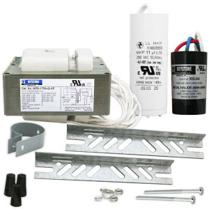 Keystone MPS-175A-Q-KIT 175W M137-M152 Pulse Start Ballast 4 Tap