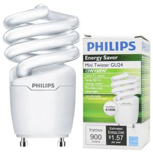 Philips EL/mdTQS CFL Mini Twister 454165 13W GU24