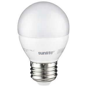 Sunlite 80549-SU G16/LED/7W/D/E26/FR/ES/27K/CD Globe Bulb