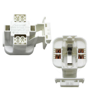 Edwin Gaynor 285-Q3-HSL Lamp Holder for G24q-3 4 Pin Based Lamps