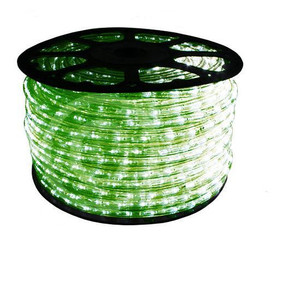 "150 ft Green LED Rope Light Spool 1/2"" 120 Volt Reel"