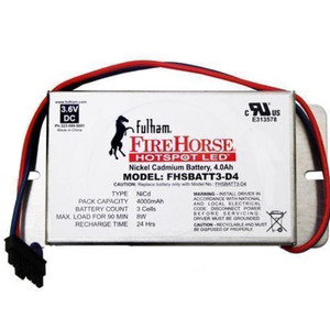 Fulham FHSBATT3-D4 Fire Horse HOTSPOT LED Nickel Cadmium Battery