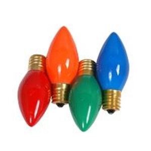 Halco C9ORG7C 7 Watt Incandescent Bulb