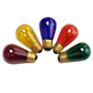 Halco 9053 Transparent Yellow S14YEL11T 11W Incandescent Bulb