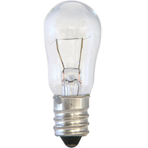 Halco 9043 Clear S6CL6/145V 6W Incandescent Bulb