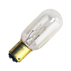 Halco 9038 Clear T7CL15DC 15W Incandescent Bulb