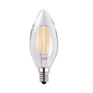 Halco 85054 ProLED B11CL4/ANT/827/LED2 3.8W LED 2700K