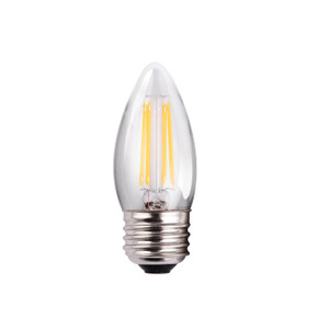Halco 85055 ProLED B11CL4ANT/827/E26/LED2 3.8W LED 2700K