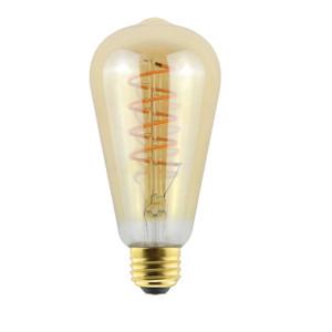 Halco 85080 ProLED ST19AMB6ANT/822/CF/LED2 6.5W LED 2000K