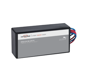 Keystone KTLD-10-1N-12V-F3 10W Constant Voltage LED Driver
