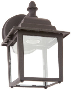 "Sunset Lighting F7850-31 Black 1 Light 8.75"" Height Outdoor Wall Sconce"