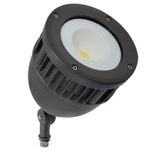 Commercial Outdoor Colored LED Landscape Ground Flood Light Fixture with Knuckle Mount