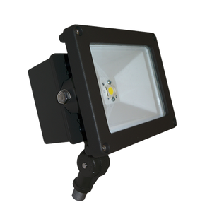 Commercial Outdoor Color LED Landscape Ground Flood Light Fixture with Knuckle Mount