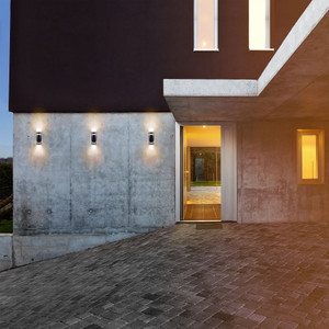 Infinity Solar Up and Down Wall light