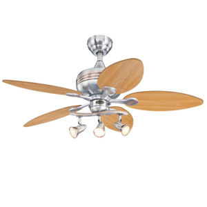 Westinghouse 7233100 Xavier 44-Inch Indoor Ceiling Fan with Dimmable LED Light Fixture