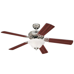Westinghouse 7234900 Vintage II 52-Inch Indoor Ceiling Fan with LED Light Fixture