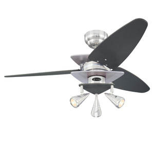 Westinghouse 7235800 Vector Elite 42-Inch Indoor Ceiling Fan with Dimmable LED Light Fixture