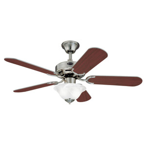 Westinghouse 7237500 Richboro SE 42-Inch Indoor Ceiling Fan with Dimmable LED Light Fixture