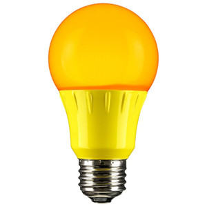 Sunlite 80149-SU A19/3W/Y/LED LED Bulb