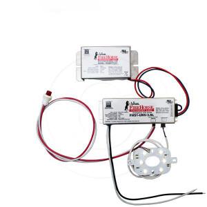 6W LED Emergency Battery Backup Retrofit Light Fixture Kit Array