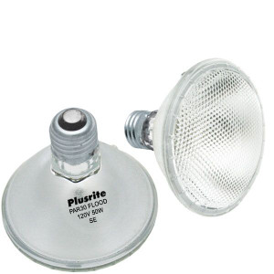 Plusrite PAR30 Flood 120V 50W SE Halogen Light Bulb - 3104
