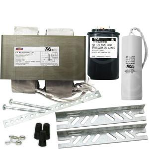 Keystone HPS-1000A-Q-KIT 1000W S52 HPS HID Ballast Kit Quad Tap