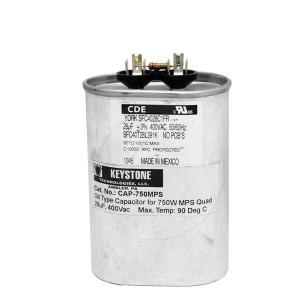 Keystone CAP-750MPS 400Vac 28uf Oil Type Capacitor 750W MPS Quad
