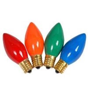 Halco C9GRN7C 7 Watt Incandescent Bulb