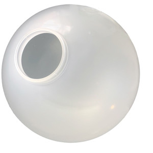 """Replacement VC Frost 8"""" Outdoor Acrylic Post Globe Cover 4"""" Lip"""