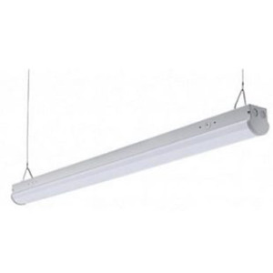 """48"""" LED Linear Suspension Strip Light with Emergency Battery Back"""